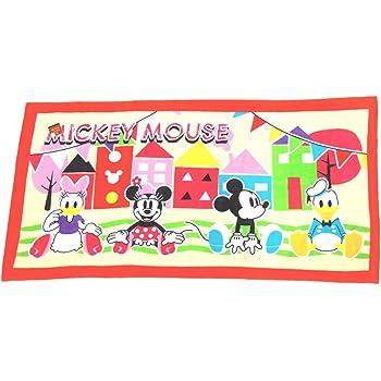 大判バスタオル ディズニー ミッキーマウス 「リラックス」70×140cm (ビーチタオル、ジャンボタオル)