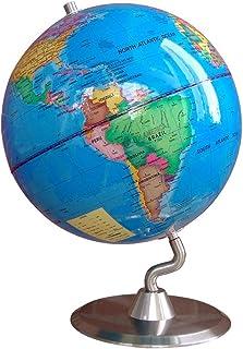 LQQFF Útiles Escolares Globe 23cm Oficina Estudio Decoracion Adornos versión Inglesa Pura