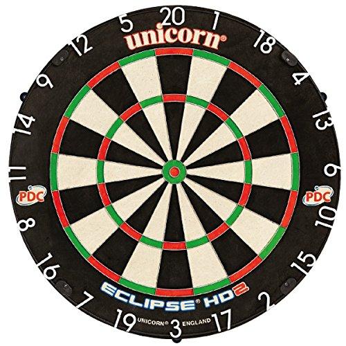 Unicorn Eclipse HD2 Pro Bristle Dartboard, inkl. Unicorn Unilock Levelling System