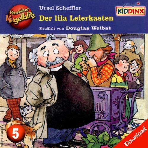 Der lila Leierkasten (Kommissar Kugelblitz 5) Titelbild