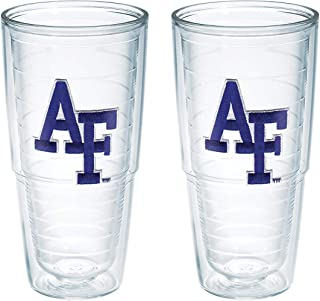 Tervis US Air Force Academy AFT Emblem Tumbler, Set of 2, 24 oz, Clear -