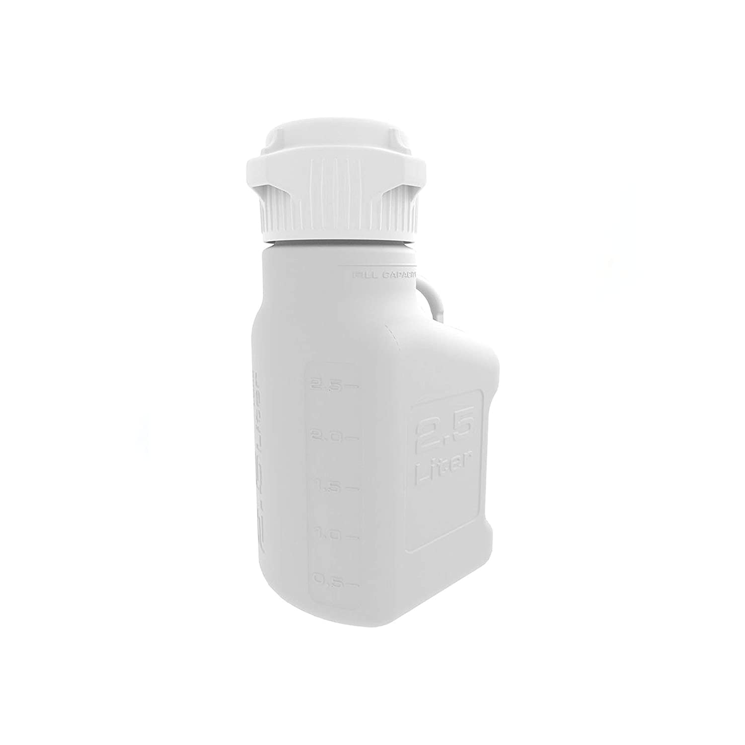 free At the price shipping Foxx Life Sciences EZgrip 2.5L 0.5 Saving Gal Carbo Space HDPE