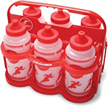 Cramer Big Mouth Squeeze Wide Mouth Water Bottles With No Leak Push/Pull Cap, BPA-Free Bottle For Team Sports, Football, L...
