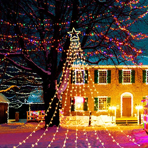 KAZOKU LED Lights,Twinkle Star,Holiday Party Decorations,Interior and Exterior Decoration,The Lights up,Indoor and Outdoor Available,Energy Saving, Energy-Saving, Low Voltage Lights,Warm Light