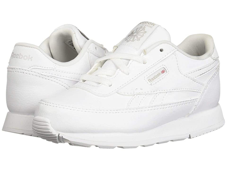 Reebok Kids CL Renaissance (Infant/Toddler/Little Kid) (White/White) Kids Shoes