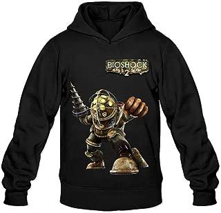 Soulya Men's Bioshock Big Daddy Fashion Hoodies Sweatshirt Size US Black