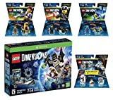 Lego Dimensions Starter Pack + The Lego Movie Emmet + Benny + Bad Cop Fun Packs + Portal 2 Level Pack for Xbox One