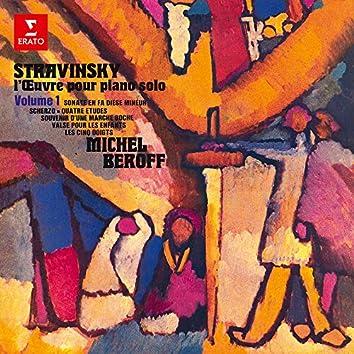 Stravinsky: L'œuvre pour piano, vol. 1. Scherzo, 4 Études, Valse pour les enfants & Les cinq doigts