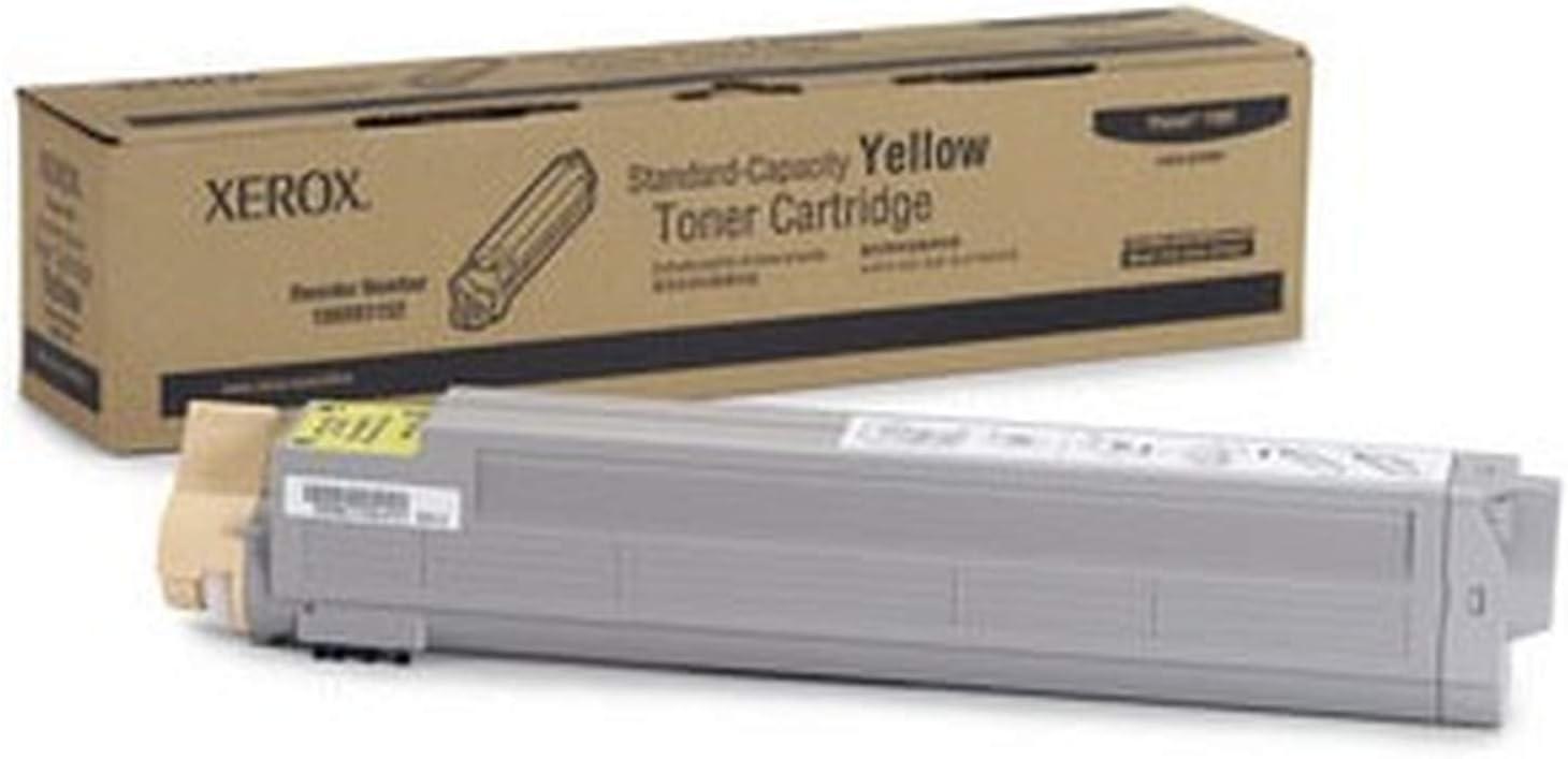Genuine Xerox Yellow Toner-Cartridge for the Phaser 7400, 106R01152