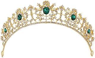 LUCKYYY Accessori per Capelli da Sposa Corona da Sposa Copricapo da Sposa Vintage