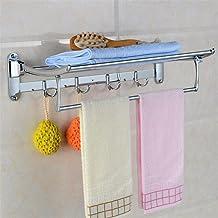 MBYW moderne minimalistische hoge dragende handdoek rek badkamer handdoekenrek Zink legering beweegbare opvouwbare handdoe...