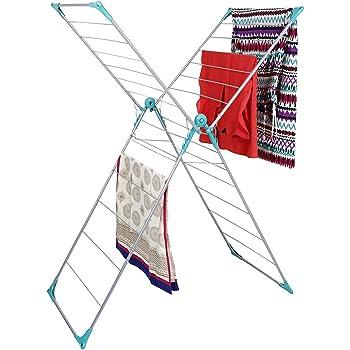 Peng Essentials Naples Steel Floor Cloth Drying Stand