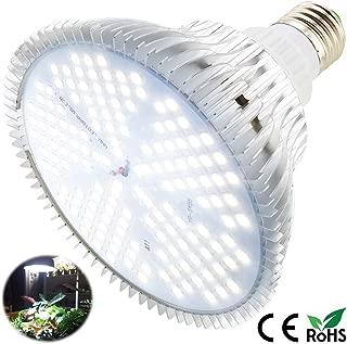 100W Led Grow Light Bulb, Sunlike Full Spectrum Grow Lights for Indoor Plants, E26 150 LEDs Plant Light Bulb for Hydroponics Indoor Garden Greenhouse Houseplants Vegetable Tobacco (White 100W)