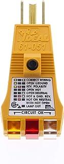 IDEAL INDUSTRIES INC. 61-051 E-Z Check Plus GFCI Circuit Tester