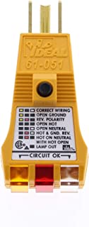 IDEAL INDUSTRIES INC. 61-051 E-Z Check Plus GFCI Circuit Tester