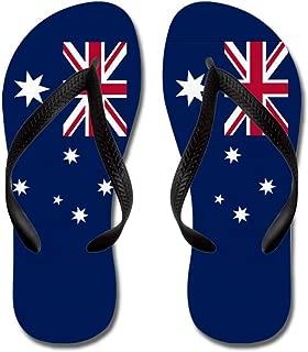 Australian Flag - Flip Flops, Funny Thong Sandals, Beach Sandals
