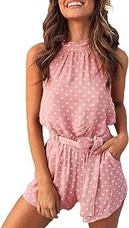 Best pink jumpsuit shorts Reviews