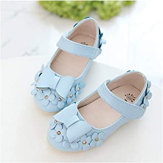 tomik Little Baby Girls Shoes Princess Shoes Girls Flowers Bows Rhinestone Kids Shoes
