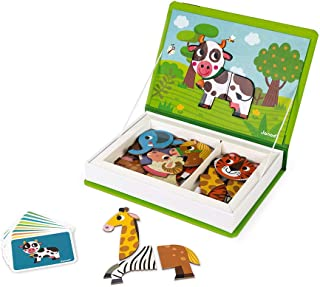 Janod Magnet Ibook Animals, Multicolor