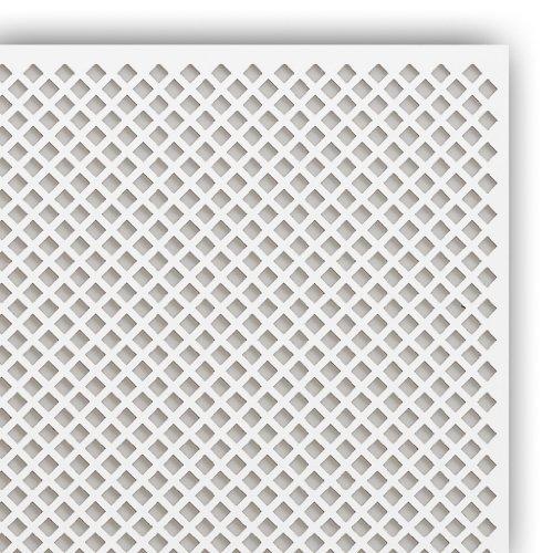 Pegboard Placa perforada de madera Valencia, 122 x 61 cm, para revestimiento de radiadores (3)