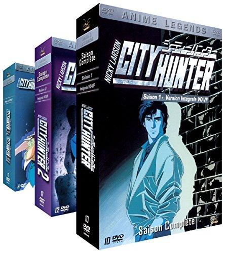City Hunter (Nicky Larson) - Intégrale (non censurée) - 3 Coffrets (28 DVD)