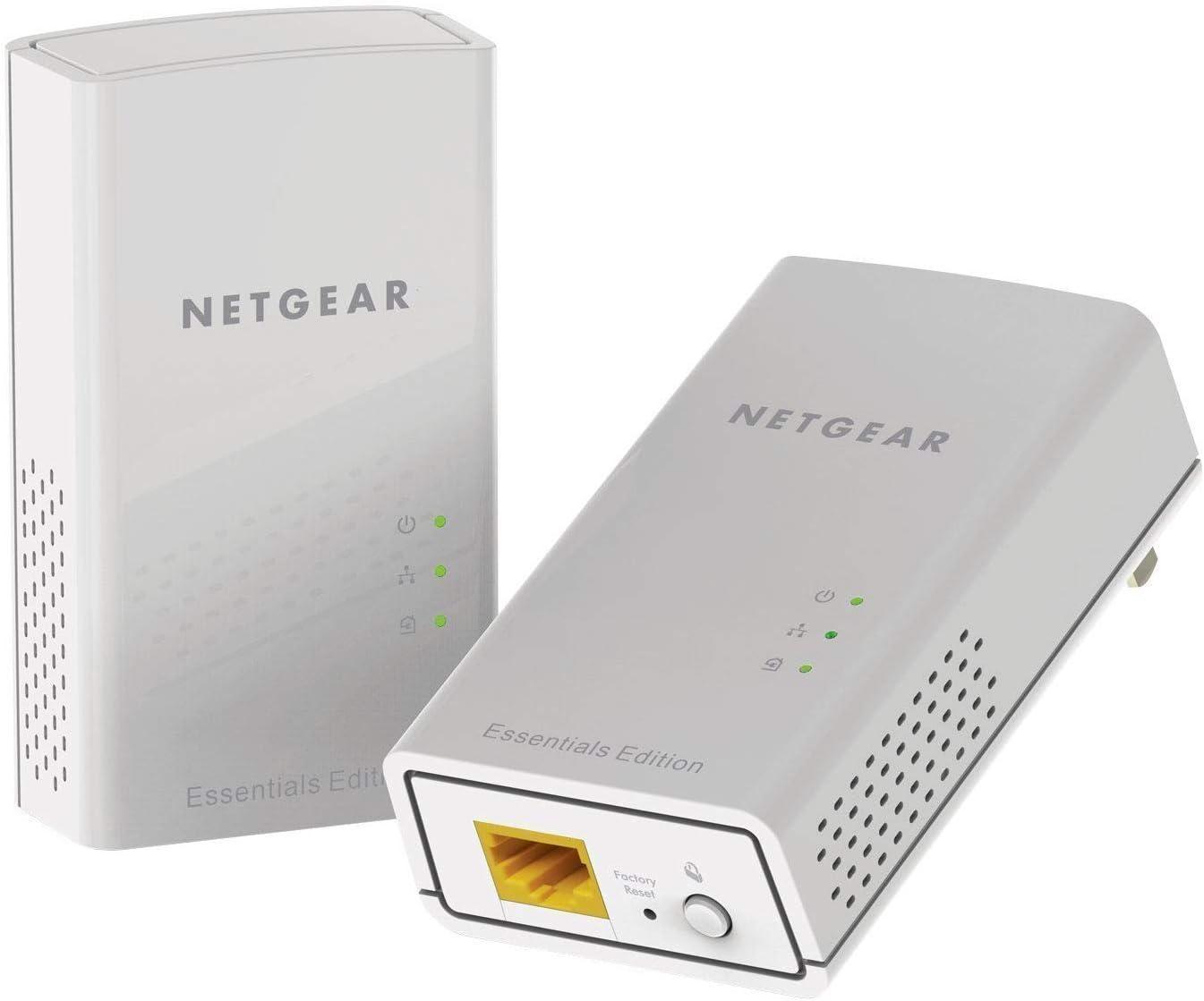 Netgear Powerline 1000 Adapter Set Of 2 2x pl10