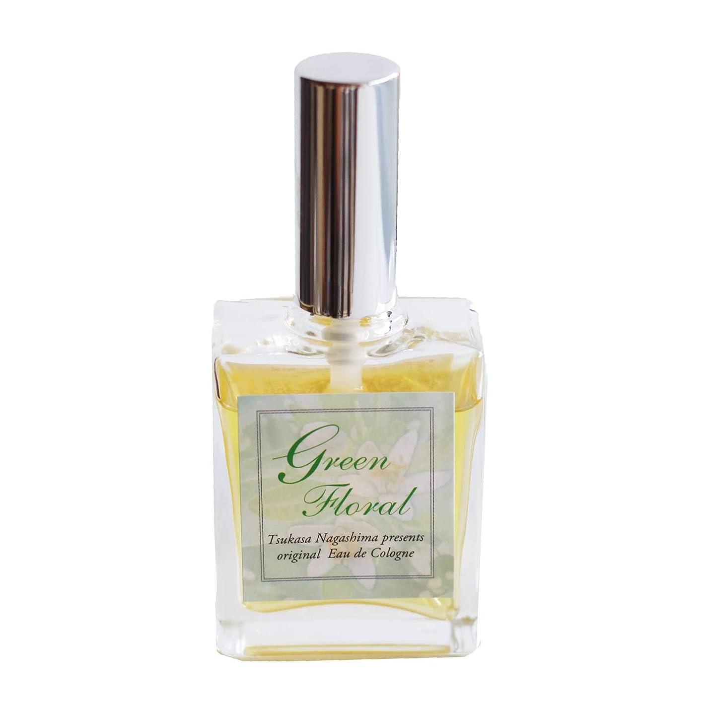 ピアニストメガロポリス存在天然精油のみ使用/Green Floral オーデコロン/ 15ml/ ハニーサックル、ガルバナム、ネロリ