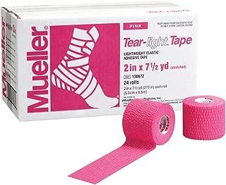 Mueller Tear-light Tape Pink, 2 in X 7.5 Yd 24ct