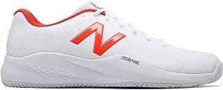 [ニューバランス] メンズ 男性用 シューズ 靴 スニーカー 運動靴 MCH996v3 Tennis - White/Flame [並行輸入品]