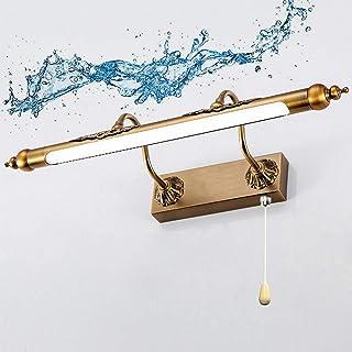 SFOXI Vintage LED metalen spiegellamp dimbaar spiegellamp wandlamp badkamer make-up spiegel licht waterdichte verlichting ...