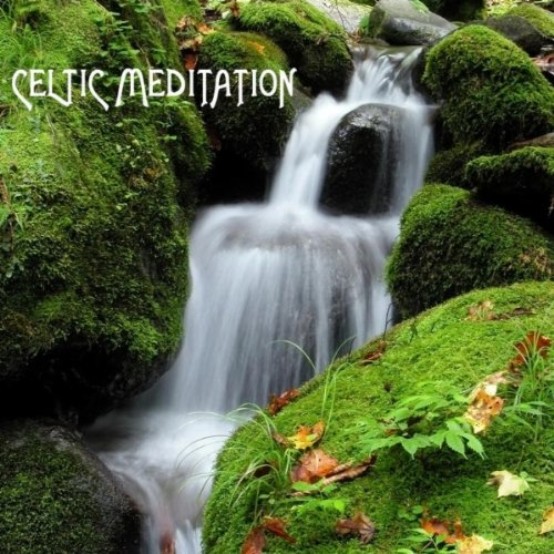 Ceilidh Celtic Music with Gentle River Stream for Spa Relaxation and Spa Meditation. Healing Waters
