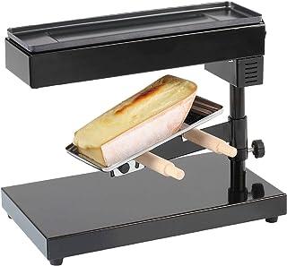 Appareil à raclette pour une pièce entière de fromage à raclette, appareil sur pied (appareil à faire fondre le fromage, 6...