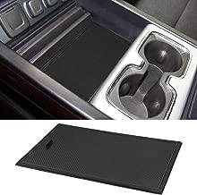 ROCCS Secret Compartment Cover Center Console Organizer Tray for 2014-2018 GMC Sierra 1500 2500HD 3500HD Denali Chevy Silverado Hidden Accessories