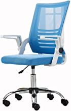 YLLN Home Office Desk Chair Home Study Chair Breathable mesh Rotating handrail Bearing Weight 150kg Elevating Rotary (Colo...