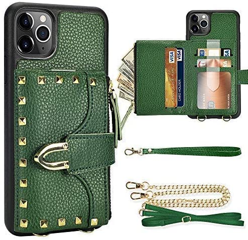 iPhone 11 Pro shopping Mail order Max Wallet Credi Rivet Case ZVE