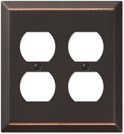 Four Gfci Rocker Wall Switch Plate Oil Rubbed Bronze Switch And Outlet Plates