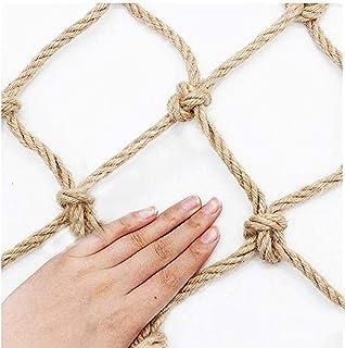 Decor Net Fishing Net Decor ,decoration Safe Net Outdoor Anti-fall Net Decorative Net Retro Hand Knitting 20cm Pitch (Colo...