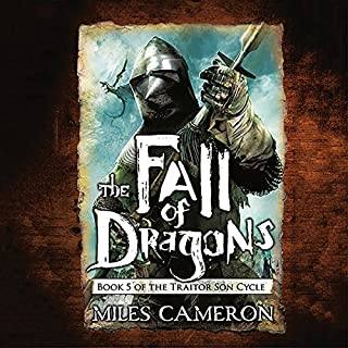 Page de couverture de The Fall of Dragons