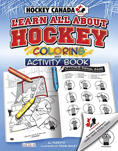 Hockey Canada's Learn All About Hockey: Color and Activity (Rule 1, Sports Color and Activity Books)