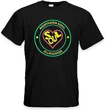 Tribal T-Shirts Northern Soul All Nighter Heart Logo Men's T-Shirt