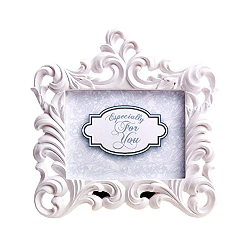 c38985b17723 Mini Photo Frames Baroque White Vintage Look for Wedding Christmas or Other  Occasions