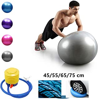 Pilates Yoga Sports Yoga Balls,Bola Pilates Fitness Gym Balance Fit Ball Exercise Pilates Workout Massage Ball For Home Gy...