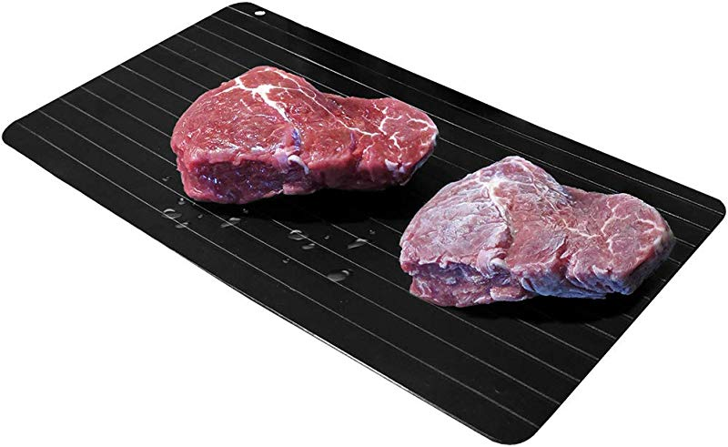 Evelots NEW Meat Defrosting Tray Thaws Fast Large Size No Microwave Electricity