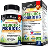 Prebiotic + Probiotic Plus Whole Food Enzymes Supplement for Men & Women. 20 Billion CFU-Whole Health Nutrition & Complete Digestive Support with Lactobacillus Acidophilus - 30 Capsules