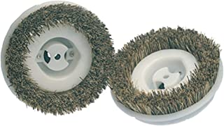 Koblenz 45-0134-2 Floor Scrubbing Brushes, 2-Pack, Standard, Beige/White
