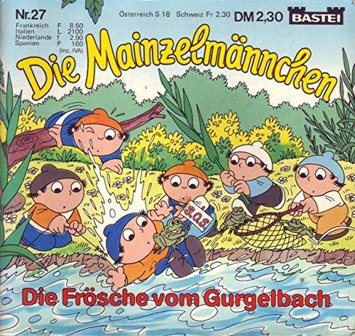 Die Mainzelmännchen Nr. 27 Die Frösche vom Gurgelbach