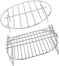 Angoily Conjunto Titular Fritadeira Ar 1 Grelhar Rack Espeto O Cozimento E Resfriamento Rack de Vapor de Aço Inoxidável Fi...