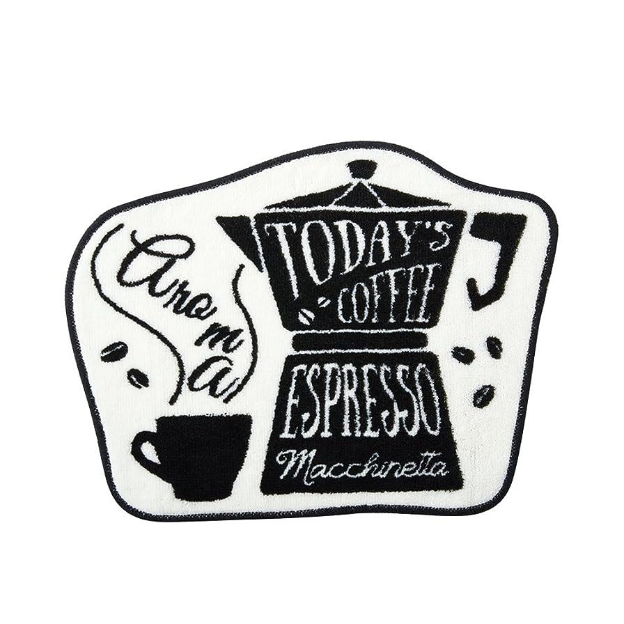 意義シーフードやろうモチーフマット North Side Coffeeノースサイドコーヒー エスプレッソ  インターフォルム FL-2788 FL-2788