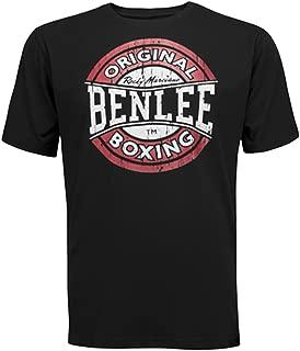 Original Boxing Men´s T-Shirt Black Vintage Target Logo
