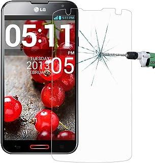 Solid Telefon Skärmskydd 50 PCS för LG Optimus G Pro 2 0.26mm 9H Ythårdhet 2.5D Explosionssäker härdat glas Film, nr Retai...